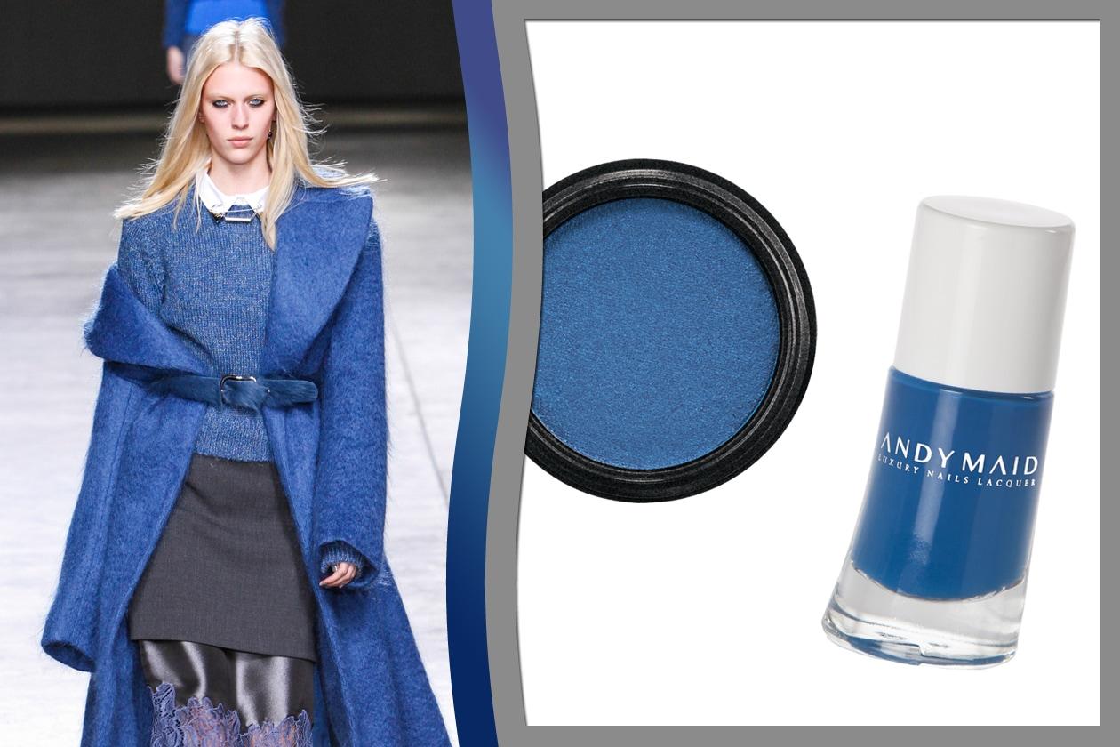 Trucco blu: Blu&black