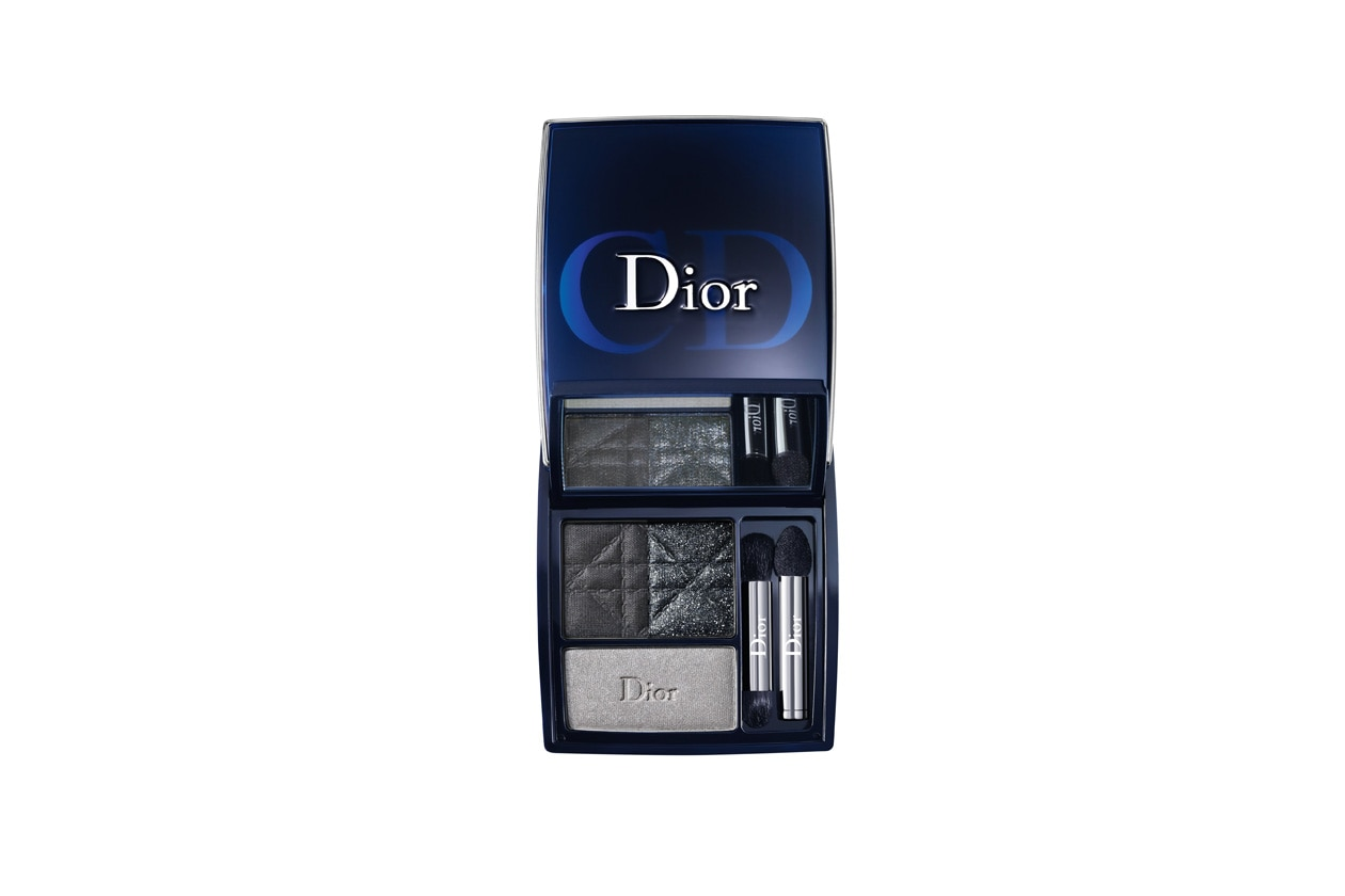 Trucco grigio e nero: Dior 3 Couleurs Smoky Smoky Black