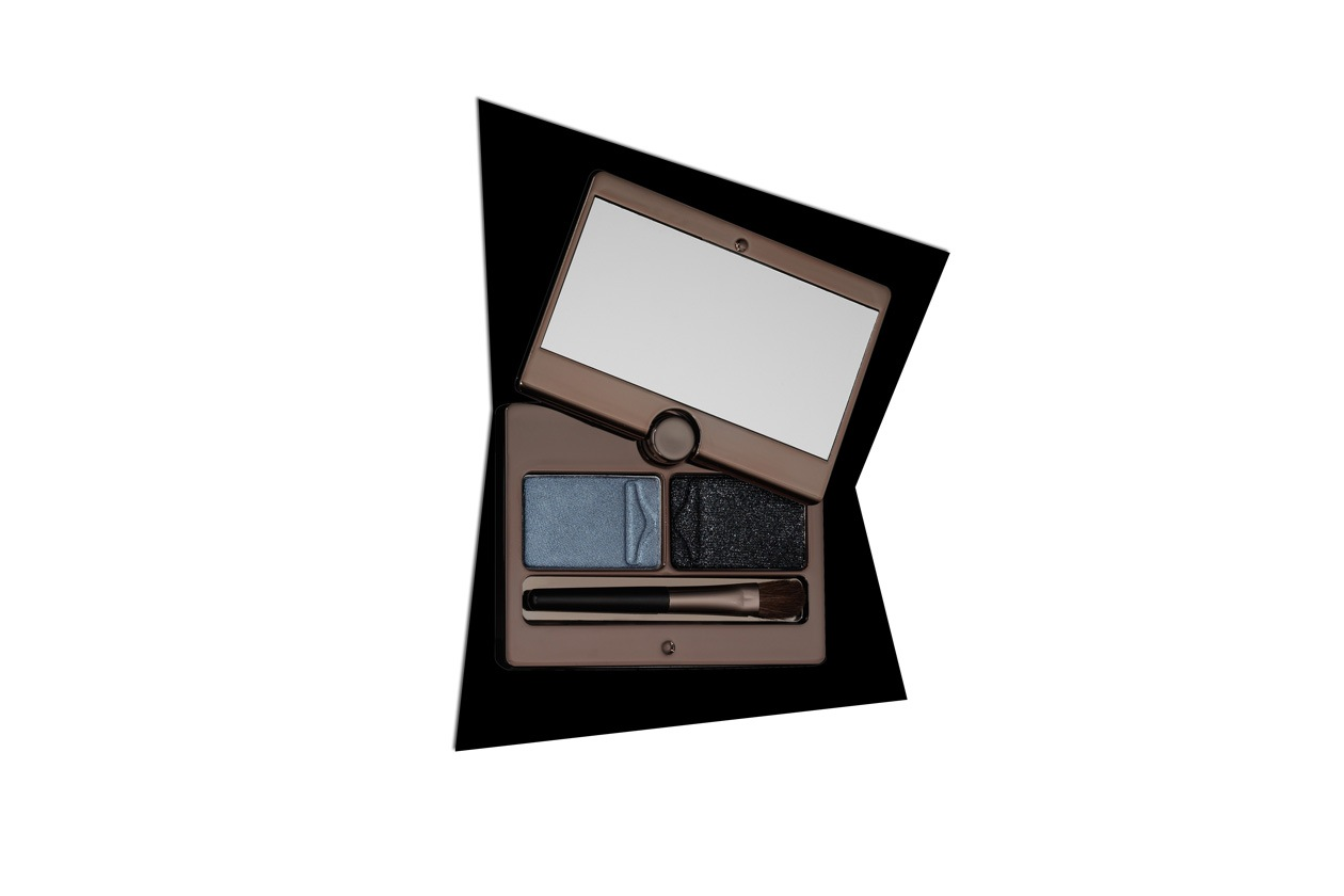 Trucco grigio e nero: Hourglass Visionaire Eye Shadow Duo Prism