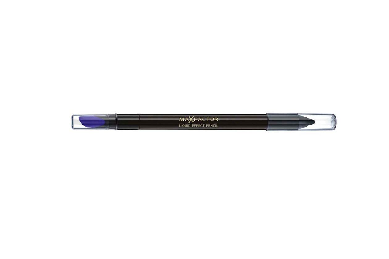 Trucco grigio e nero: Max Factor Liquid Effect Pencil Black Fire