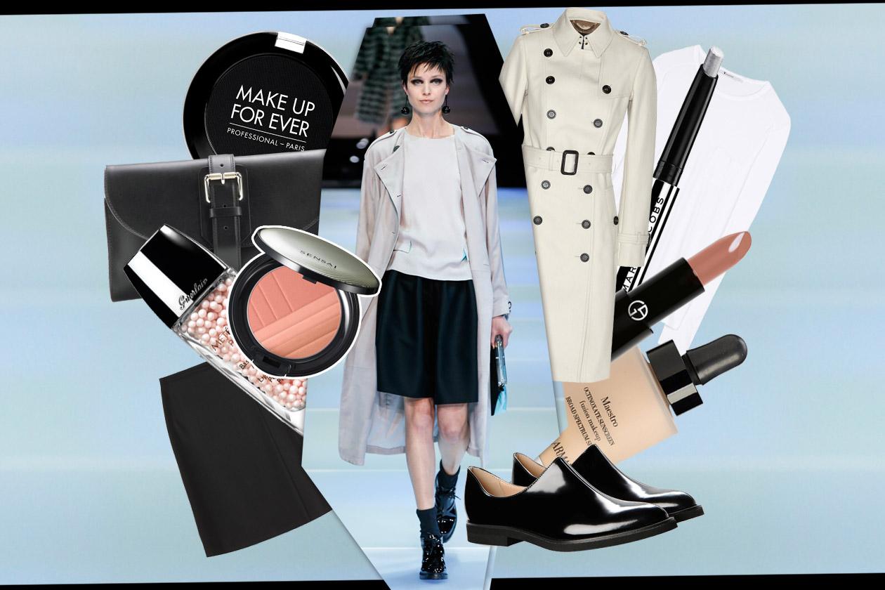 Trucco minimal e trench: scoprite gli abbinamenti beauty & fashion di Grazia.IT