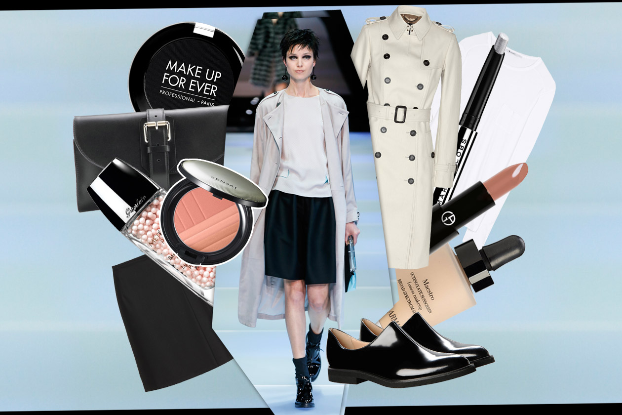Trucco minimal e trench: scoprite gli abbinamenti beauty & fashion di Grazia.IT
