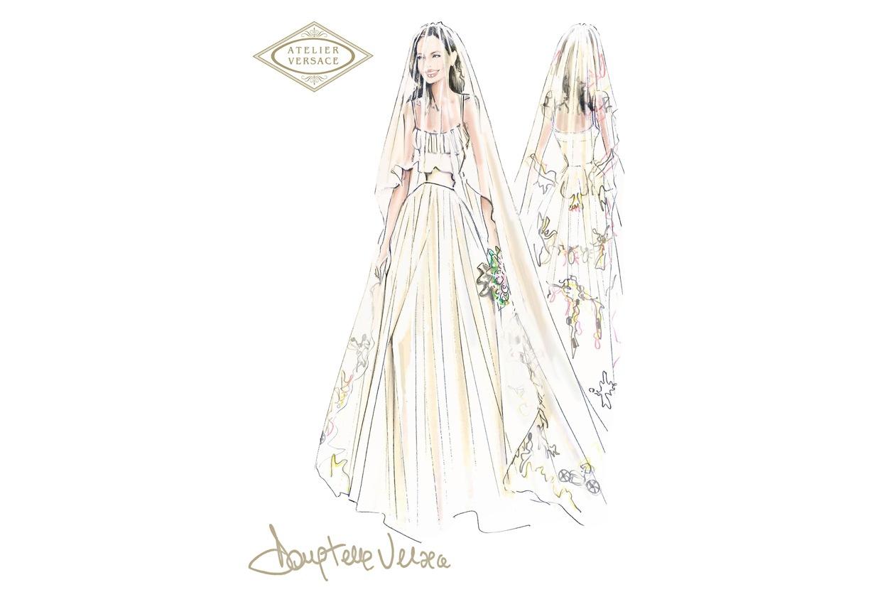Versace Angelina Jolie Wedding(1)