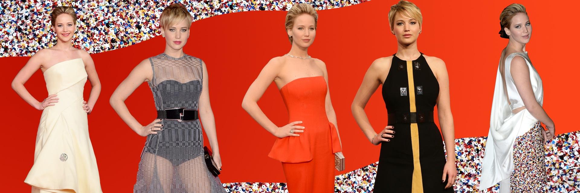 Jennifer Lawrence, fashion icon della settimana