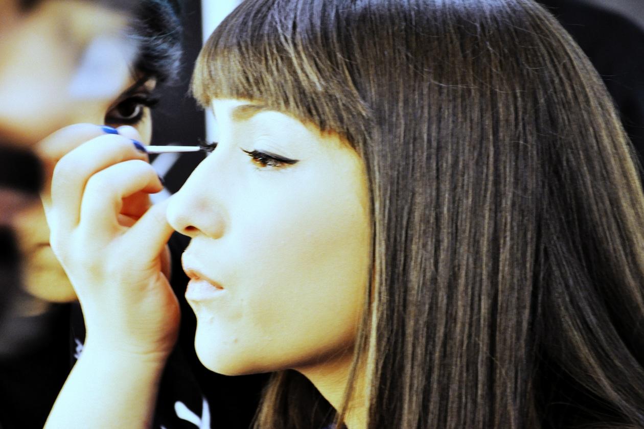 X Factor 8: Camilla Magli al trucco
