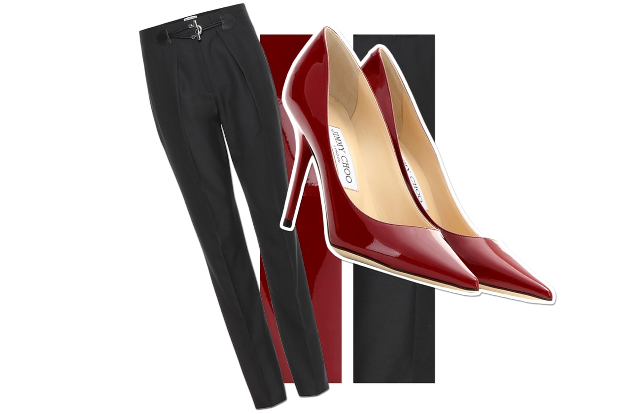 Pants Balenciaga & Shoes Jimmy Choo