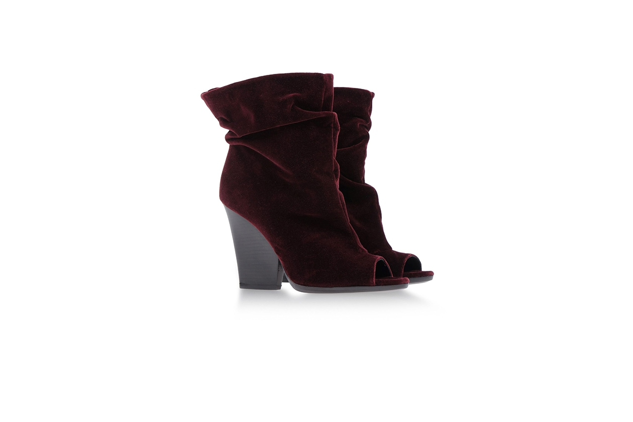Fashion Velvet shoes burberry prorsum