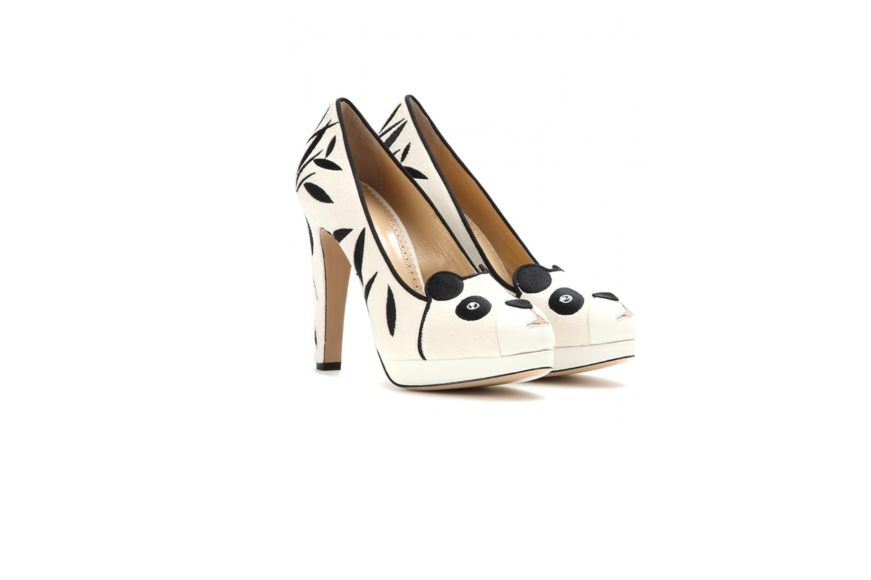 Fashion Velvet shoes charlotte olympia
