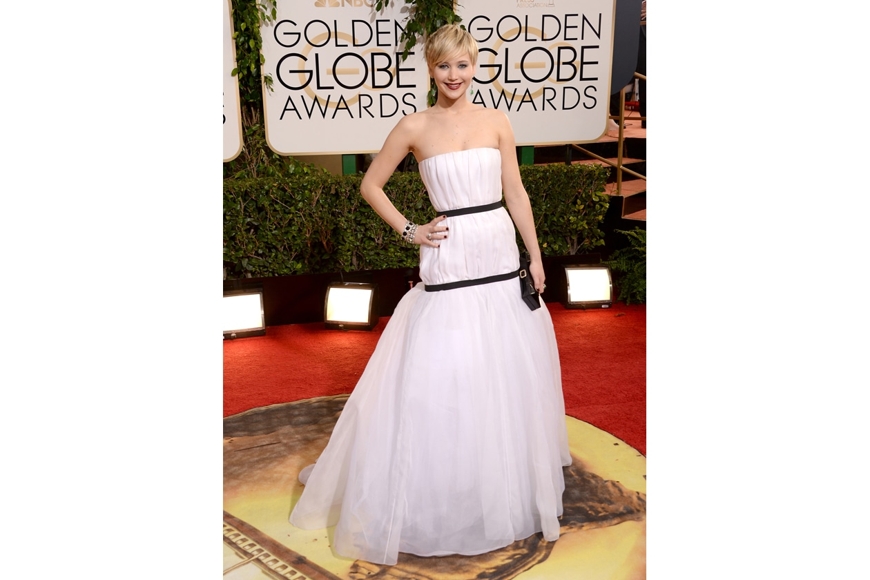 dior couture golden globe 2014