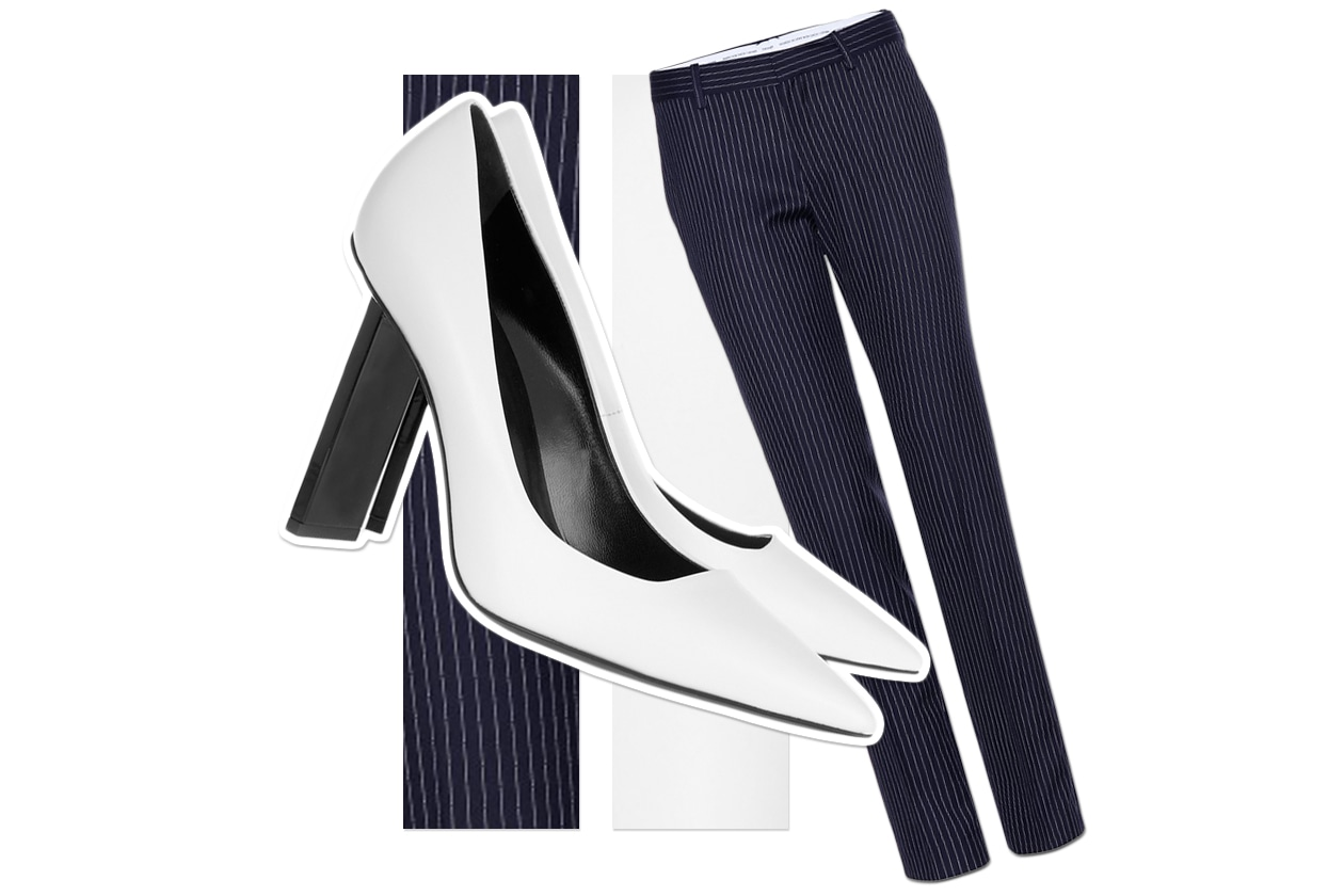 Pants Each X Other & Shoes Pierre Hardy