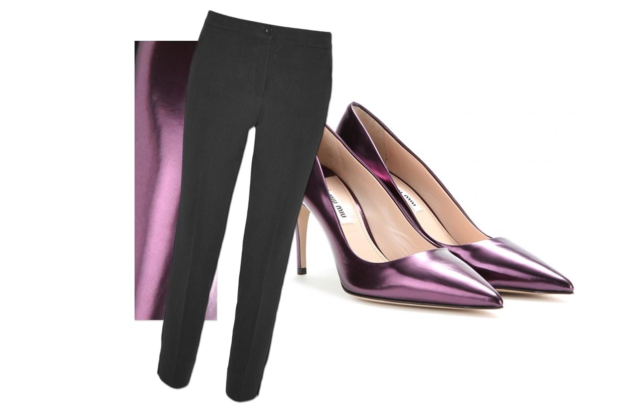 Pants Etro & Shoes Miu Miu