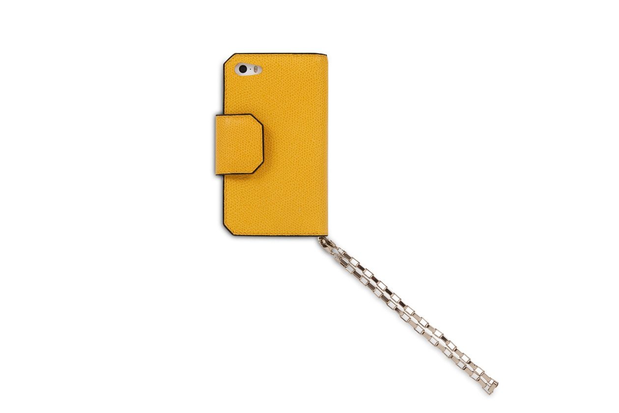 il porta-iPhone super chic, Valextra