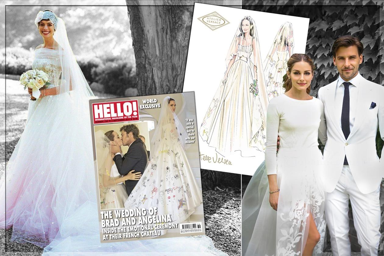 Gli abiti da sposa delle celeb