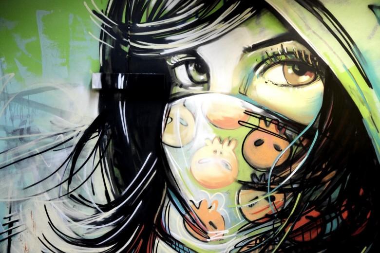 La ricetta della felicità secondo Lancôme: il video della Street Artist Alice Pasquini