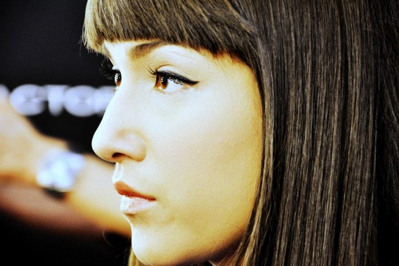 Camilla Magli beauty look: il trucco realizzato da Rajan Tolomei con i prodotti Max Factor