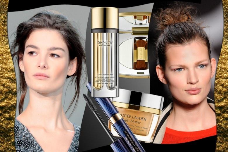 Re-Nutriv by Estée lauder: il beauty look chic e sofisticato