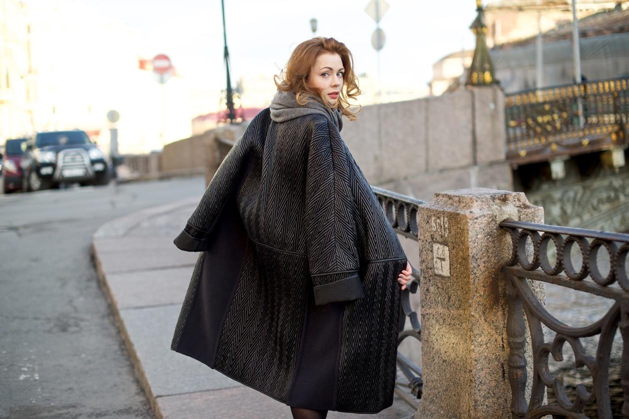 L'inverno della blogger Aksinia Vine a San Pietroburgo
