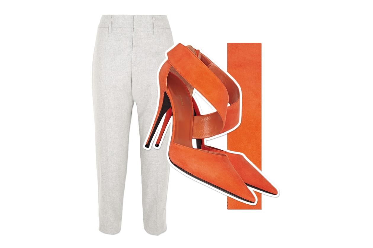 Pants Jil Sander & Shoes Narciso Rodriguez