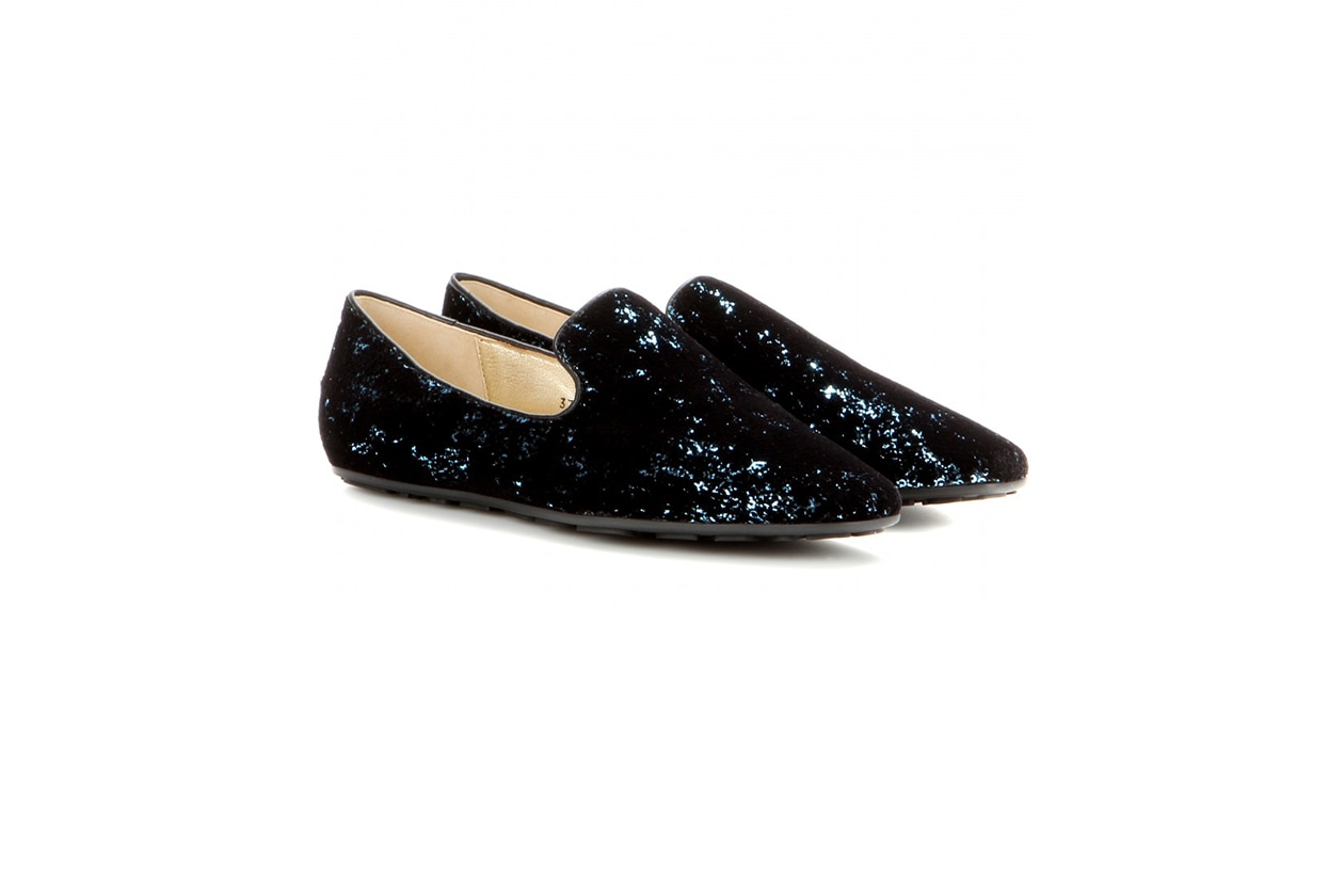 Fashion Velvet shoes jimmy choo