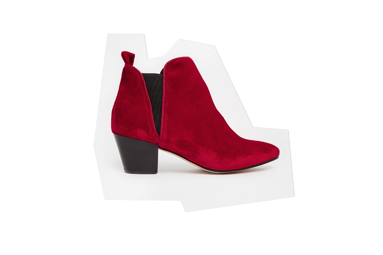 Fashion Velvet shoes kg by kurt geiger