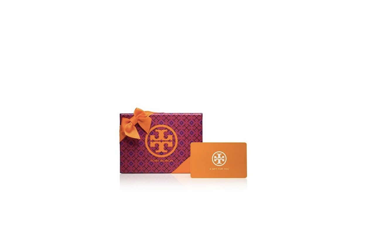 la gift card, tory burch