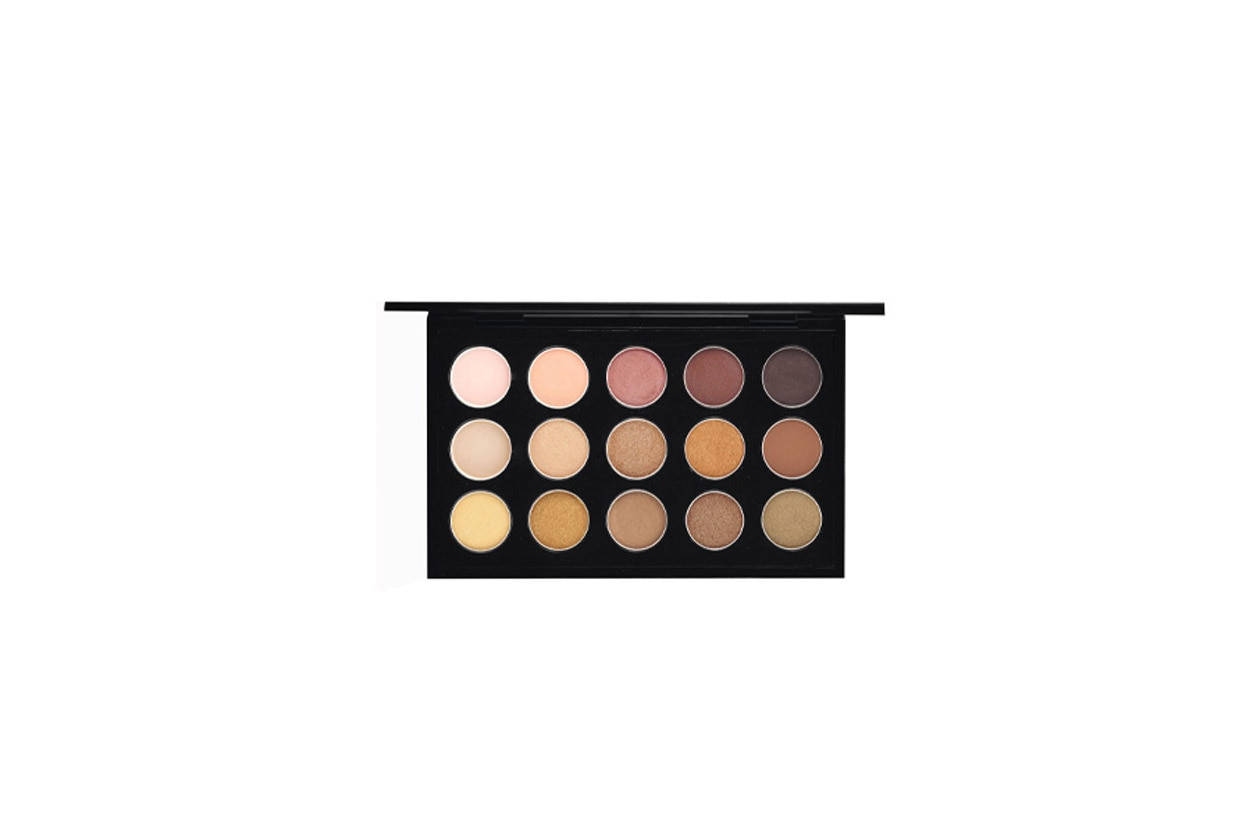 mac eyeshadow x 15 warm neutral