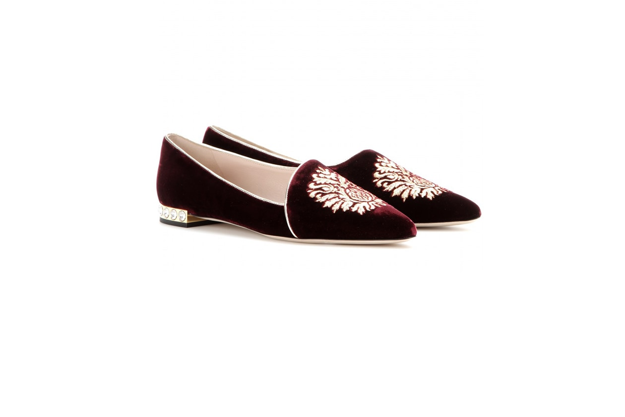Fashion Velvet shoes miumiu