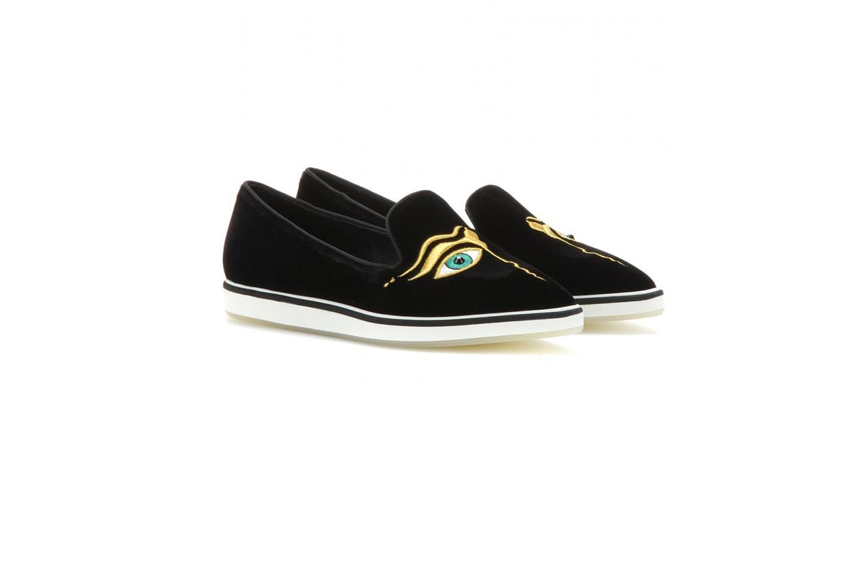 Fashion Velvet shoes nicholas kirkwood