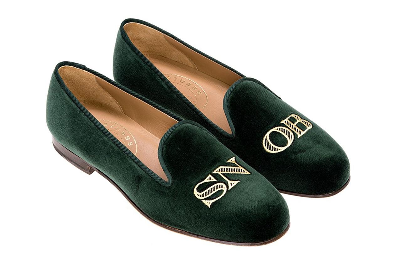 Pantofole personalizzabili Stubbs & Wootton. Costo: 360 euro