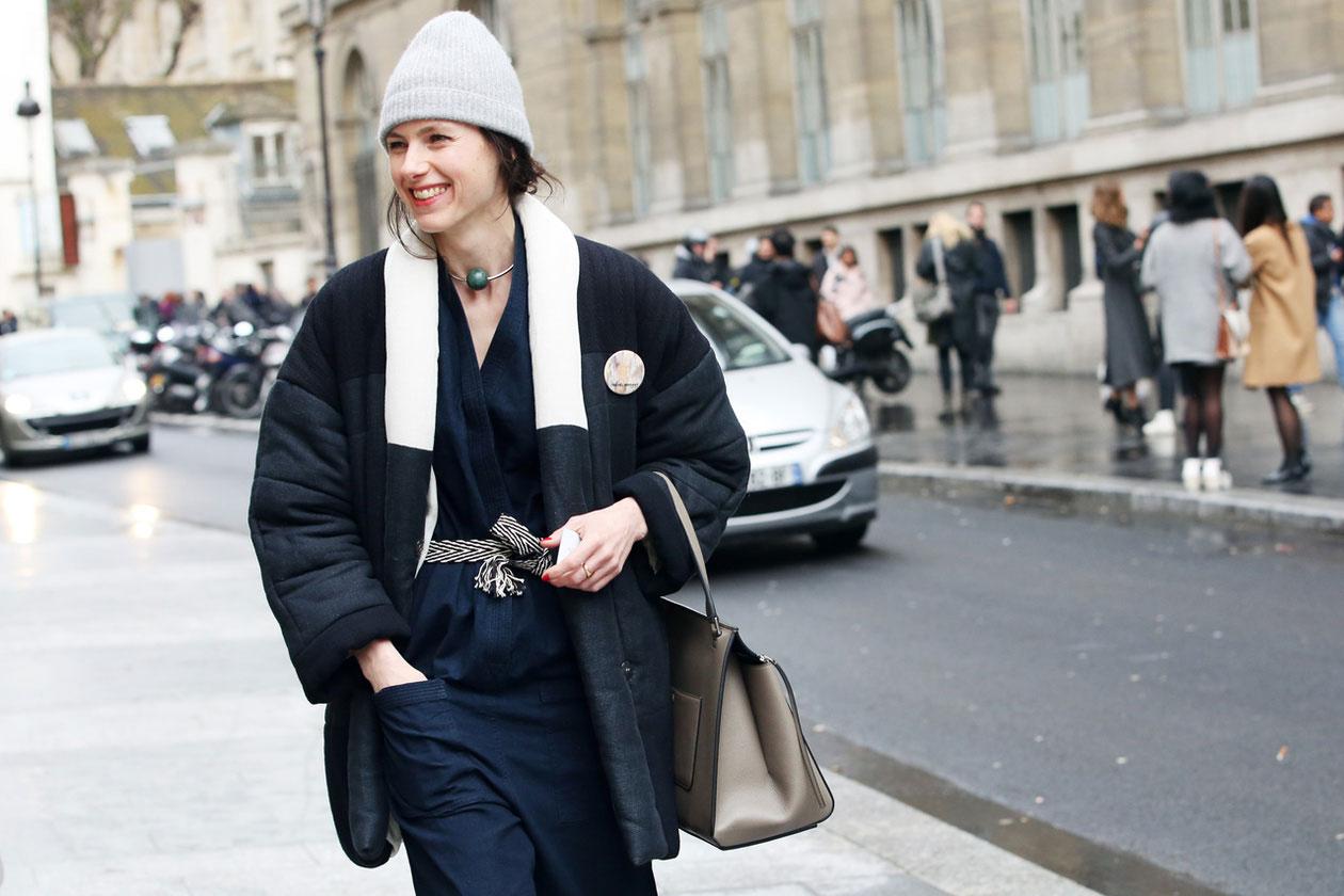 paris fashion week street style look febbraio 2014 hg temp2 l full l