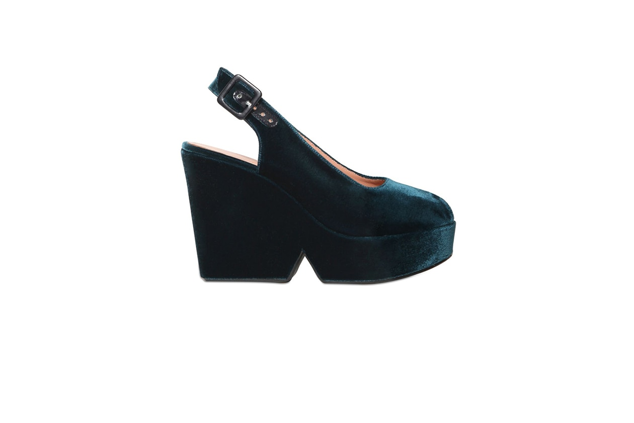 Fashion Velvet shoes robert clergerie