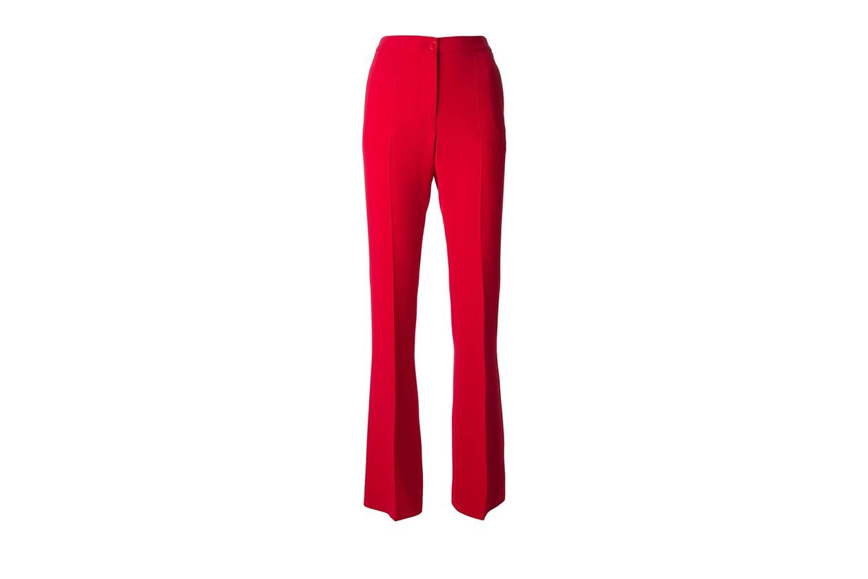 Fashion Top List Red Alert Alberta Ferretti