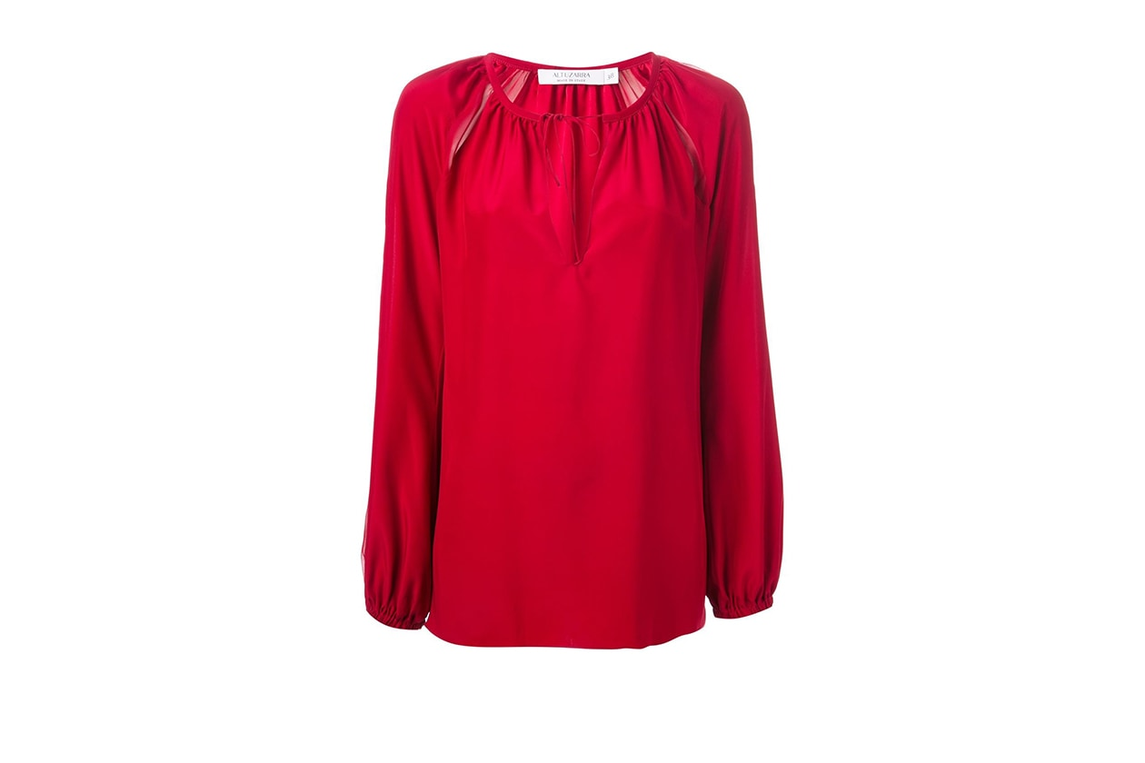 Fashion Top List Red Alert Altuzarra