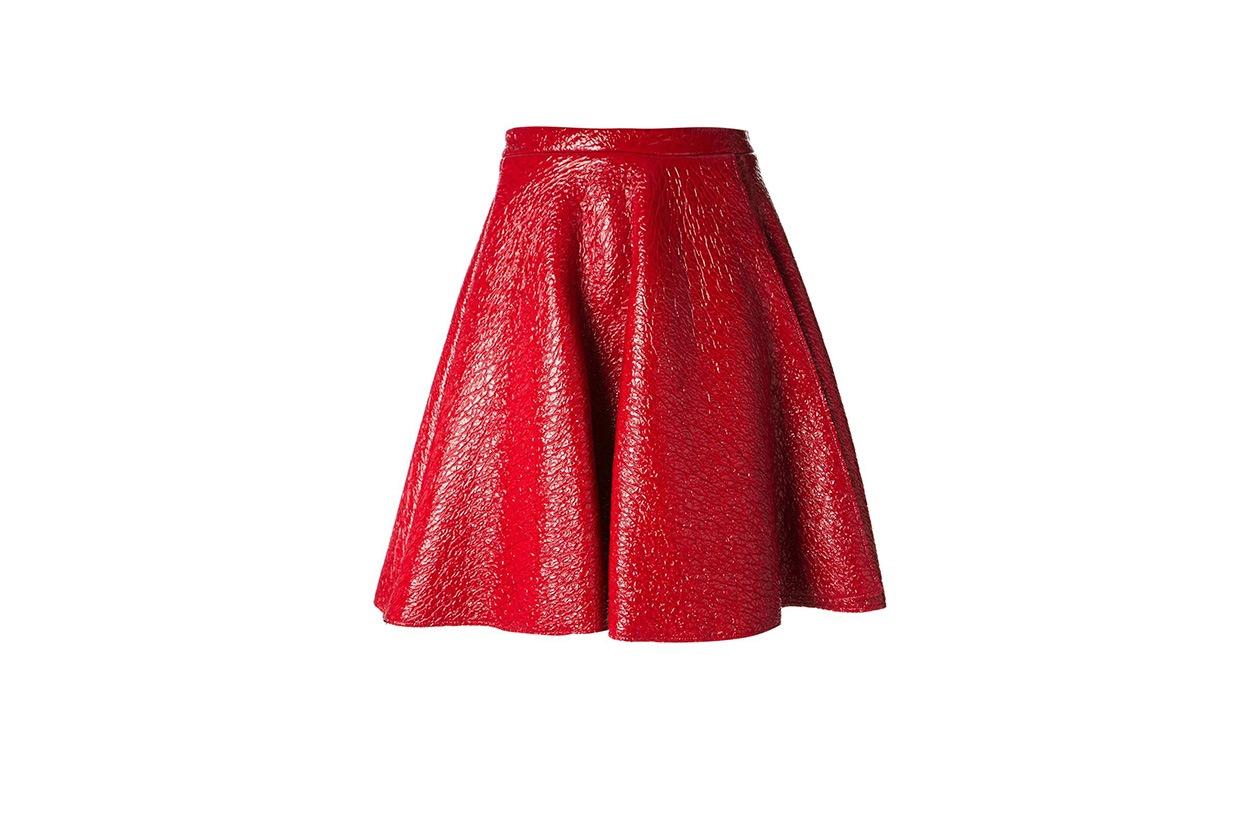 Fashion Top List Red Alert MSGM