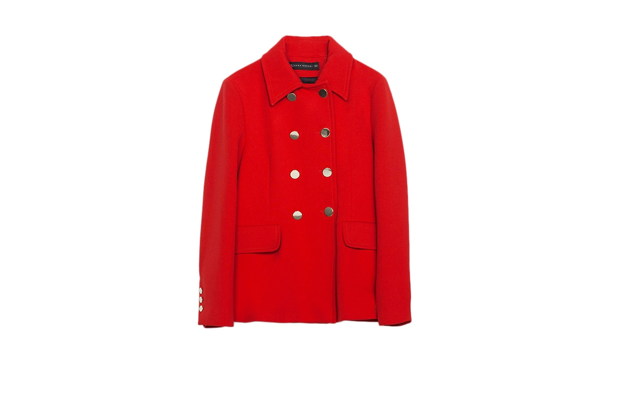 Fashion Top List Red Alert Zara