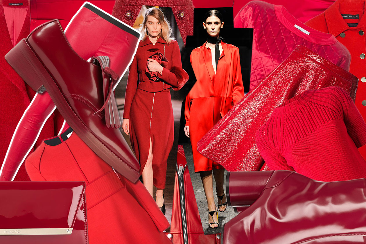 Fashion Top List Red Alert 00 Cover collage