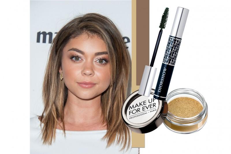 Beauty Trucco Occhi Chiari Star Sarah Hyland