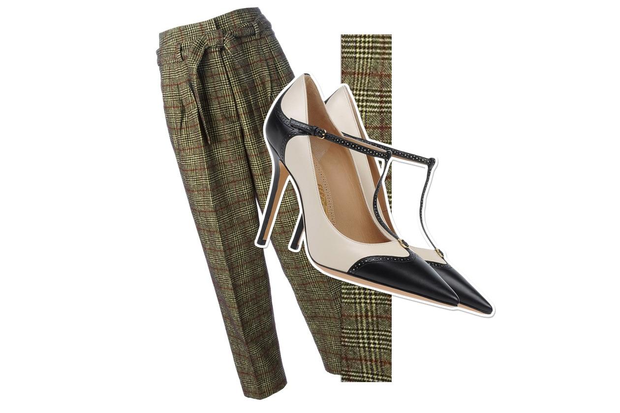 Pants Stella Jean & Shoes Salvatore Ferragamo