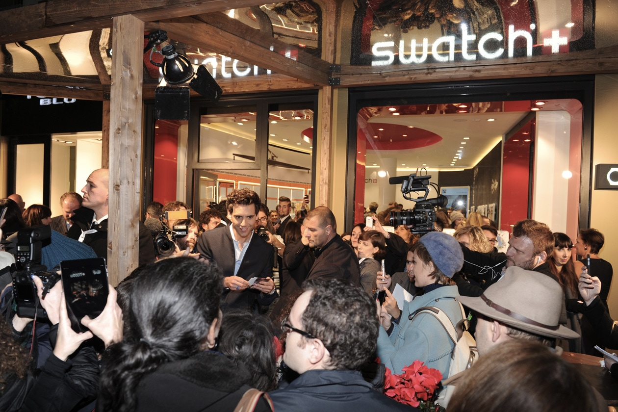 swatch store opening milano 0880 Original