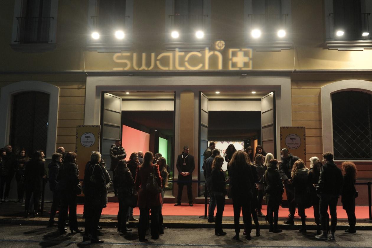 swatch store opening milano 0935 Original