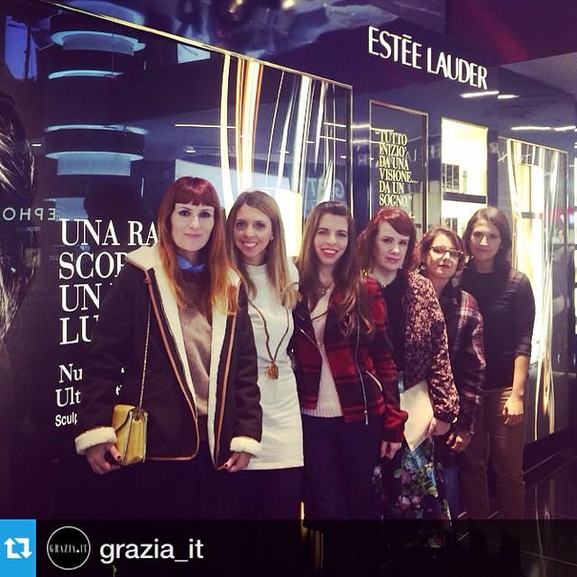 A Touch Of Gold #graziateam for @esteelauder #renutriv #grazia4renutriv #weloveit