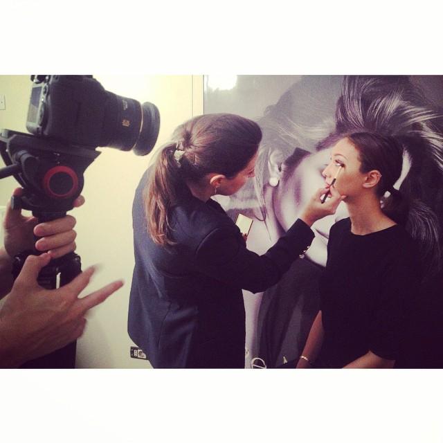 Soon on @grazia_it Estée Lauder Re-Nutriv and fast chic Make up #grazia4renutriv #esteelauder