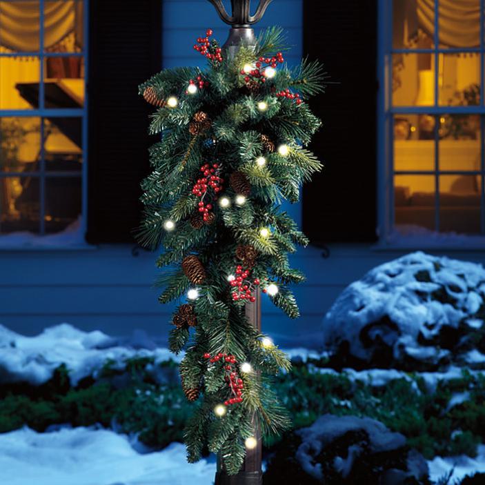 Una ghirlanda per decorare la casa per natale - Decorare lanterne ...