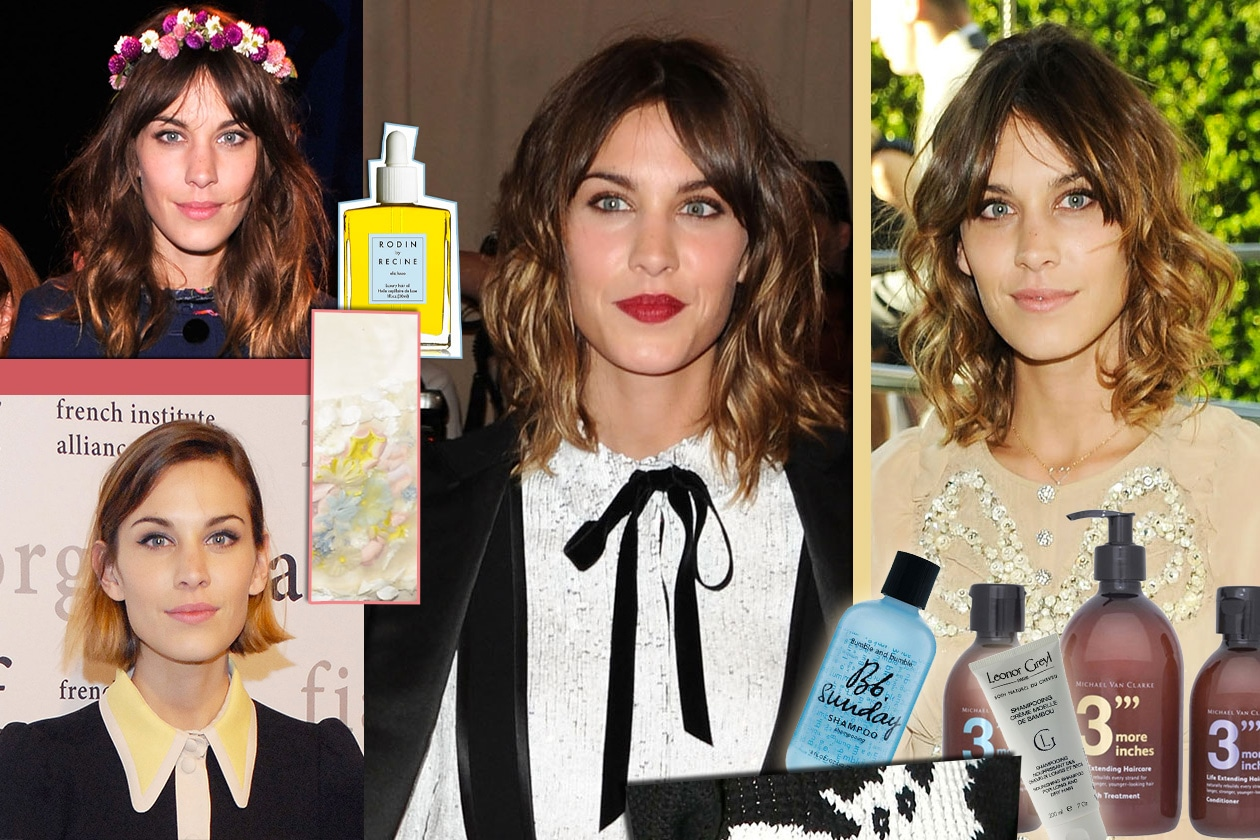 Beauty Alexa Chung Cover Collage