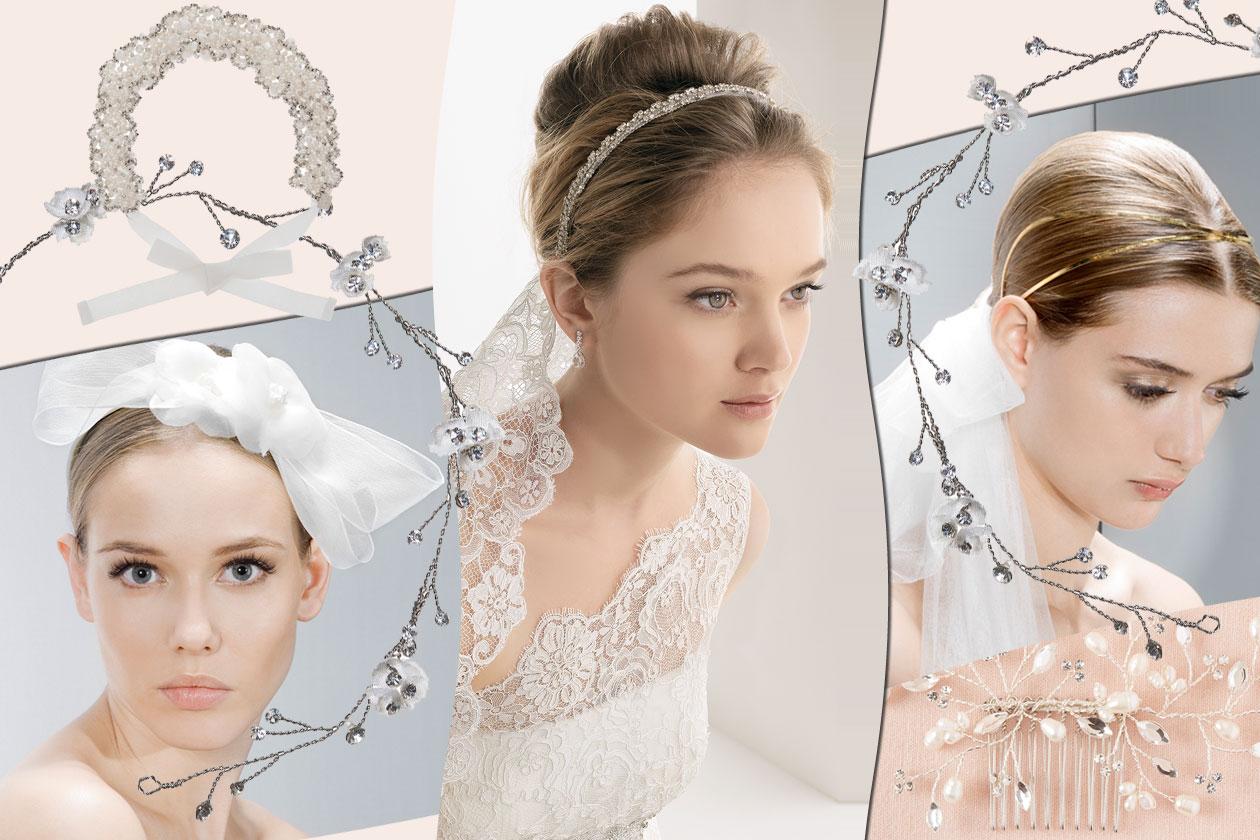 Bridal hairdo: gli accessori per la sposa