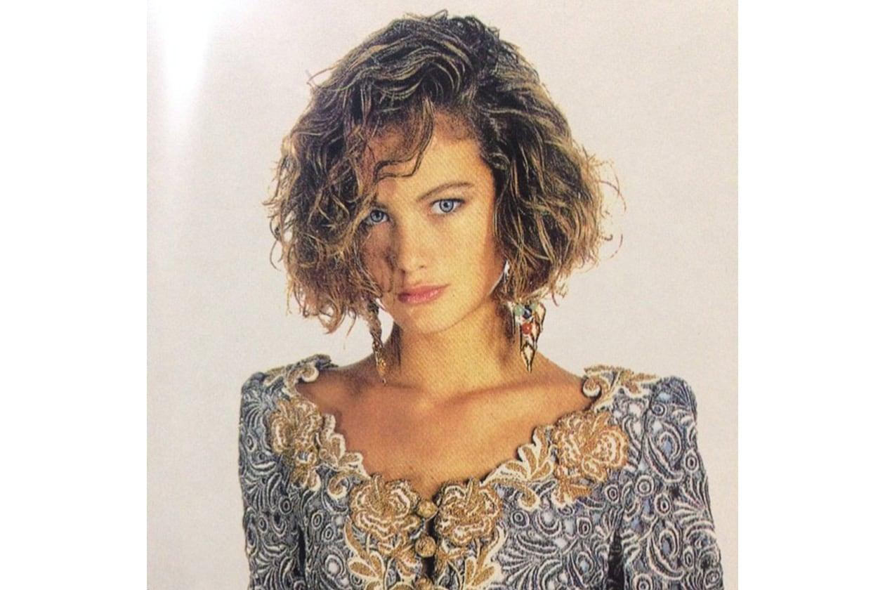 Carolyn Murphy capelli: back in 1990
