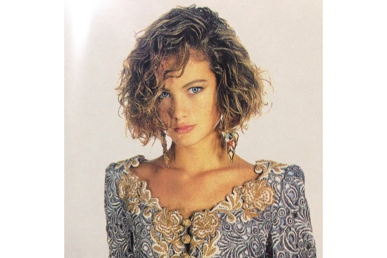 Carolyn Murphy capelli: back in 1990