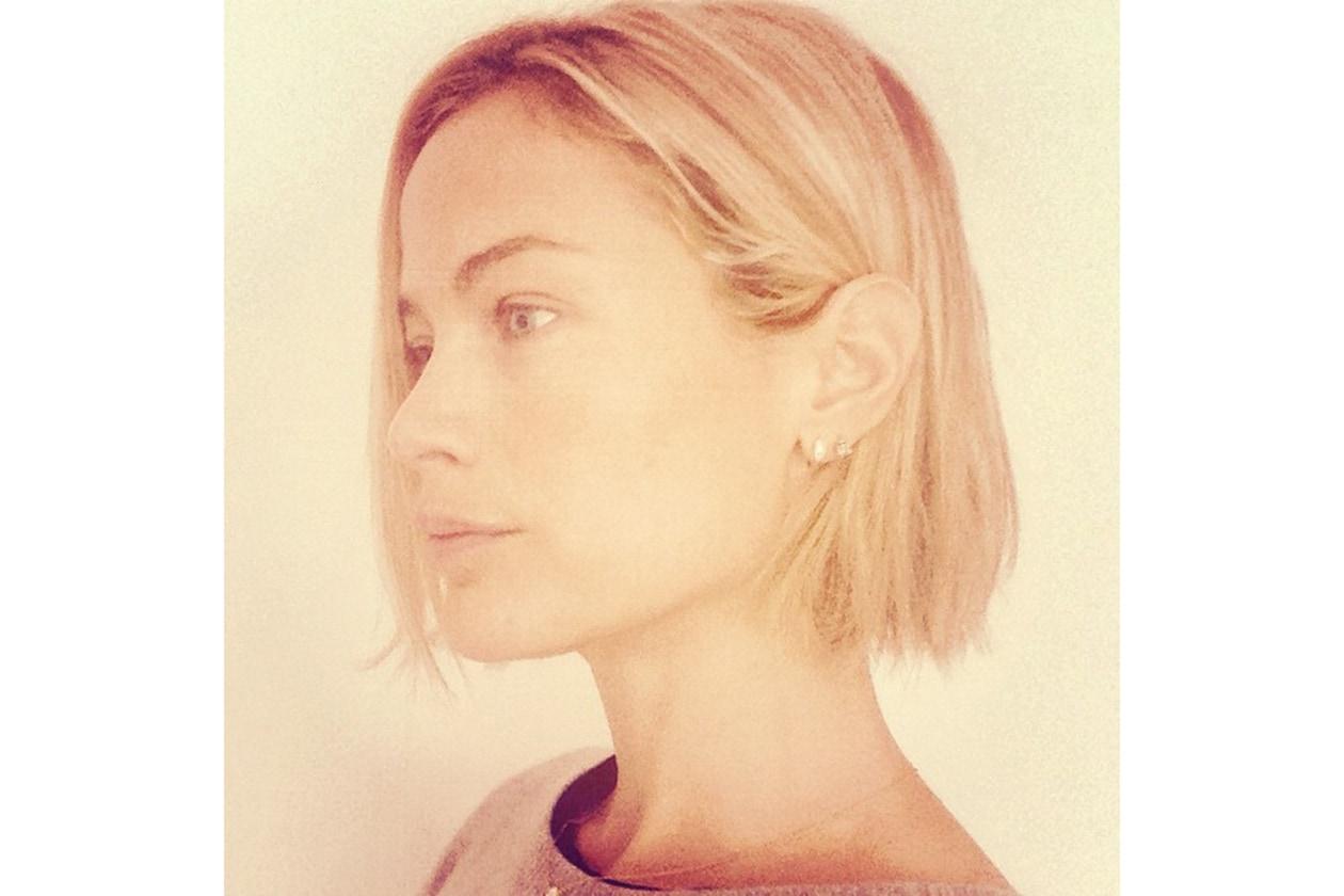 Carolyn Murphy capelli: il nuovo taglio bob