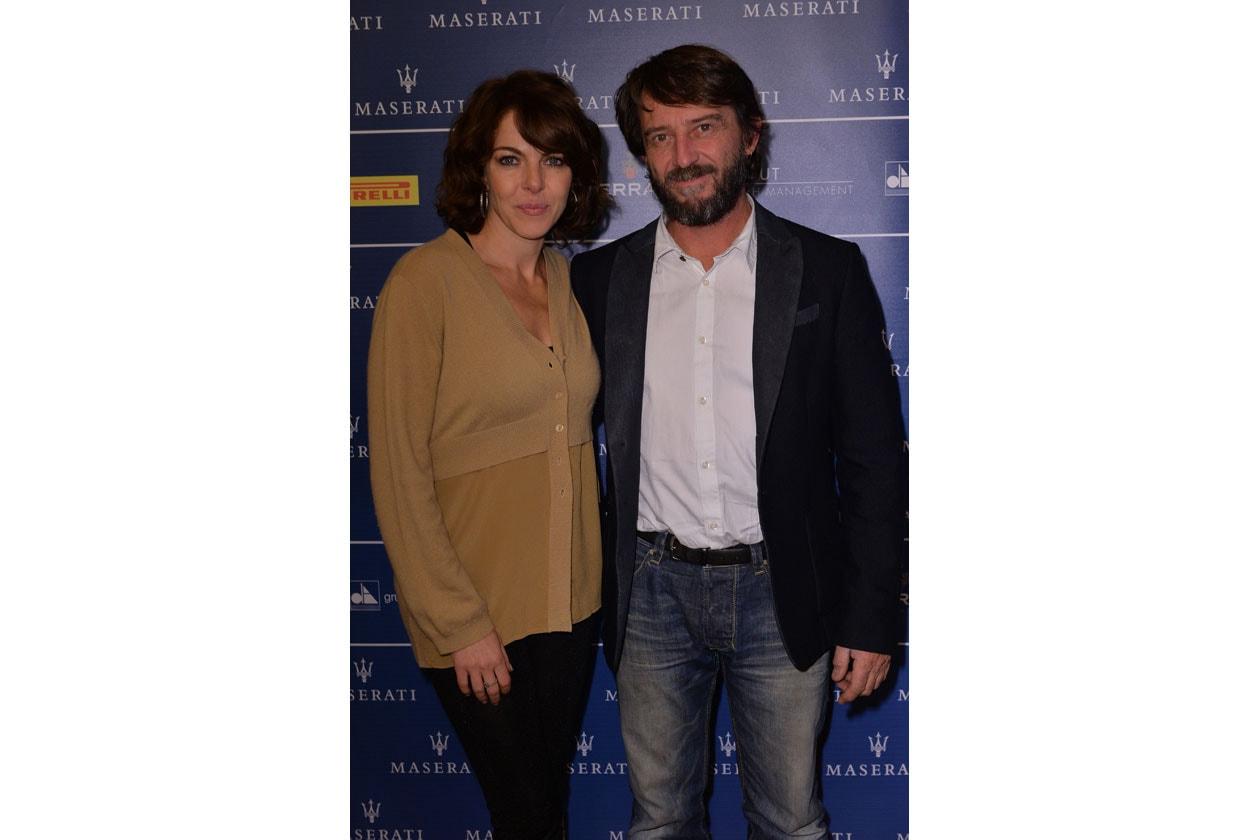Claudia Gerini;Giovanni Soldini MNT 0202