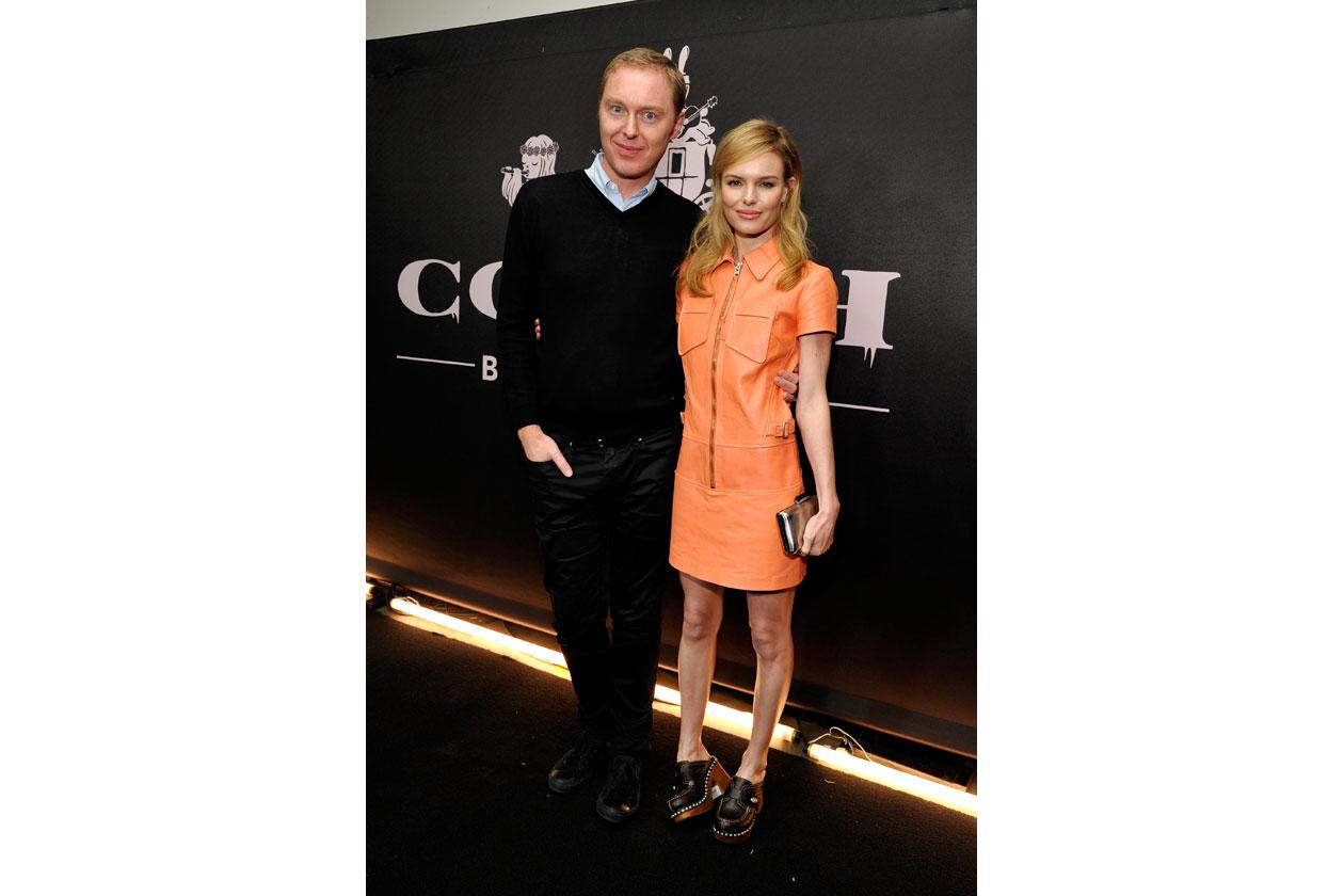 Coach Backstage Stuart Vevers, Kate Bosworth